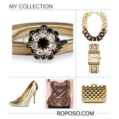"""""""Bling Illusion"""" Awesome list on #clutches #neckpieces by @Meghan Mazzola.vij0gmail.com #fashion"""