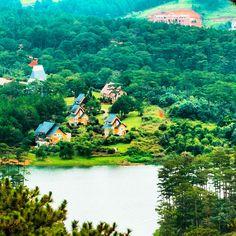 My dream house, Peace Village in Da Lat, Vietnam