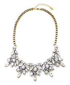 Loving this Gold Alice Bib Necklace on #zulily! #zulilyfinds