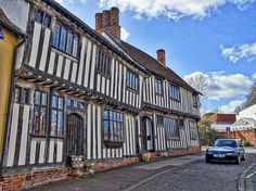 Lavenham incredible small town in europe
