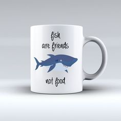 Fish Are Friends Not Food Finding Nemo Mug