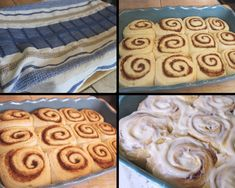 These cake mix cinnamon rolls are a fool proof way to make cinnamon rolls . These gooey rolls are packed with cinnamon filling and will be loved by all. Cinnamon Roll Frosting, Apple Cinnamon Rolls, Kneading Dough, Pound Cake Recipes, Bread Recipes, Vegetarian Cake, Thing 1, Americas Test Kitchen, Yellow Cake Mixes