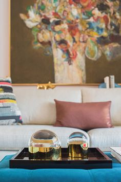 A flipped floor plan and an art-matched palette make this home young, bright and welcoming.
