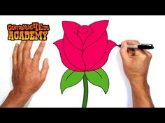 Have fun drawing from these 50 selected rose drawing tutorials. Each How to Draw a Rose tutorial has easy step by step instructions or video tutorial.