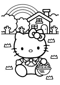 hello kitty doctor coloring pages hello kitty doctor kitty coloring page hola gato