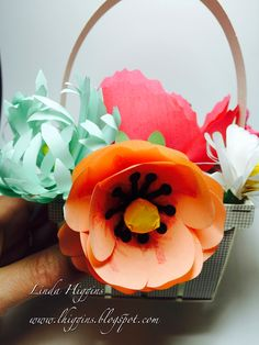 Flowers and Chocolates... the perfect gift. My Bouquet Basket class