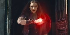 Why Scarlet Witch Is Civil War's Wild Card, According To Elizabeth ...