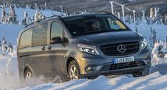 Mercedes-Benz Vito, New All Wheel Drive MPV 2015 - Mercedes-Benz Vito all-wheel drive is only sold in Germany, and only has one engine variants, the 2.1L 4