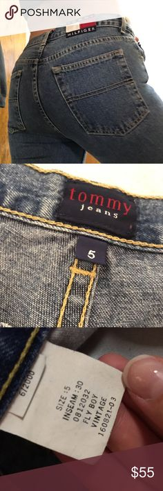VINTAGE Tommy Hilfiger Jeans VINTAGE• Low-Rise• medium wash• inseam: 30• relaxed fit• Preowned/Thrifted• If you would like these cut into shorts, let me know! (model is smaller size than the actual size of the pants) Tommy Hilfiger Jeans