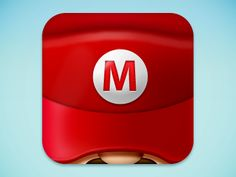 Super Marion iPhone App icon...So cool.  Brings me back to my childhood.
