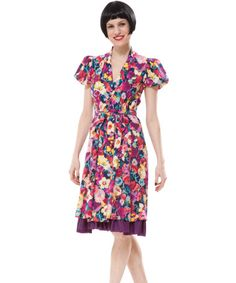 Betsey Johnson Glamor Garden Cup of Coffee Dress