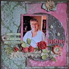 1000+ images about Mother's Day Scrapbook Layouts on ...