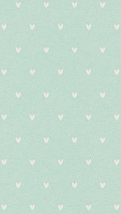 Telephone wallpaper with cute hearts