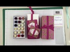 1 Box 2 Ideas! Stampin Up Dauber Storage Box or Note Card & Envelope Gift Box Set - YouTube