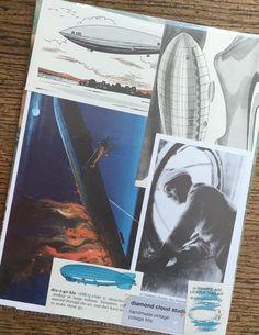 Airship Zeppelin and Dirigible Vintage by diamondcloudstudio