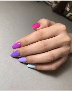 hansen chrome nail makeup pure chrome nail makeup brush nail designs airbrush makeup inc nail makeup makeup nail art nailart inc nail makeup nail makeup Gradient Nails, Cute Acrylic Nails, Pastel Nails, Purple Nails, Cute Nails, Pretty Nails, Nail Pink, Glitter Gel Nails, Solid Color Nails