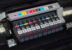 Review of the #CanonPixmaIP4180Printer  The photo black #inkcartridge is an innovation in printing which dramatically improves color contrast. One of the Canon single function printers that use this type of ink is the PIXMA #iP4180 photo printer. A pigment based ink is utilized for the photo black cartridge in combination with the dye based black, yellow, magenta, and cyan.