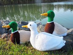 Ravelry: Ducks in a Row pattern by Sara Elizabeth Kellner