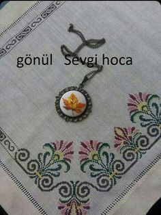 This Pin was discovered by Süm Cross Stitching, Cross Stitch Embroidery, Embroidery Patterns, Cross Stitch Patterns, Stitching Patterns, Borders And Frames, Bargello, Blackwork, Diy And Crafts