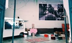 cool restaurants. Like the one with the food truck