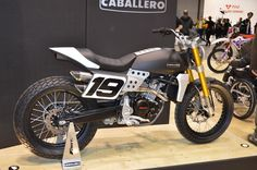 The Fantic Motor Caballero 500 will be available with flat track styling