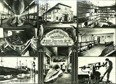Vestfold fylke Sandefjord Hvalfangsmuseet. 8-bilders montasjekort, datert 1942 Whale, Painting, Art, Craft Art, Whales, Paintings, Kunst, Gcse Art, Draw
