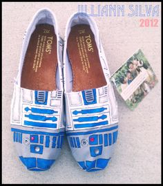 R2D2 STAR WARS Toms New Shoes