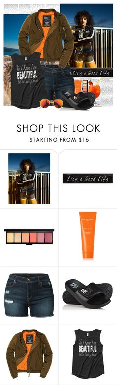 """Superdry Summer"" by polybaby ❤ liked on Polyvore featuring Superdry, 3R Studios, Sachajuan and LE3NO"
