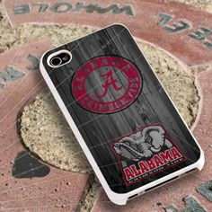 Alabama Crimson Tide Case for iPhone 4/4s iPhone by sidorukun, $14.99