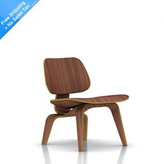 Herman Miller Eames Plywood Lounge Chair with Wooden Legs <-- i just won this chair! i'm over the moon!! #design milk #smart furniture