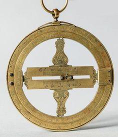 Equinoxial en bronze et laiton signé CHAPOTOT à Paris. Epoque fin