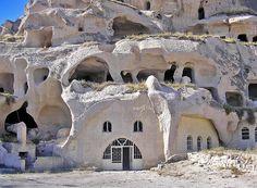 PA260926-capadocia Ciudad de Uchisar. Capadocia.Turquia