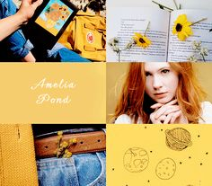 Ginger and Jazz (padlme: doctor who aesthetics: companions)
