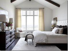 Master Bedroom window sitting area