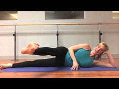 a 5 minute Pilates workout that will challenge your core & your legs in just 7 minutes.  #Pilates #workout #youtube