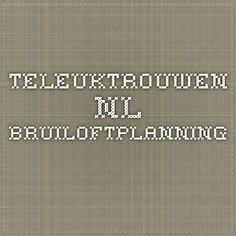 teleuktrouwen.nl - bruiloftplanning