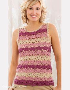 Lace tee crochet pattern free