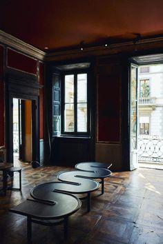 Vogue Living's style editor Joseph Gardner's top Milan Design Week day two picks Vogue Living, Milan Design, Dark Interiors, Living Styles, Nooks, Hallways, Color Trends, Furniture Decor, Closets