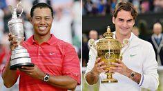 Roger Federer y Tiger Woods son los deportistas más rentables