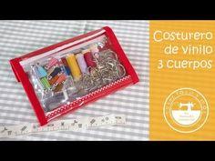Blog de costura creativa y manualidades con tutoriales en YouTube y patrones gratis. Costura para principiantes y novatas. Sewing Projects, Projects To Try, Pouch, Wallet, Bag Organization, Handmade Bags, Office Supplies, Purses, Diy