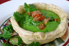 Daring Cook's Challenge:  Mini Bread Bowls and Avocado Spinach Soup