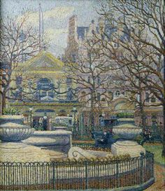 'Leicester Square' by Charles Ginner, 1912