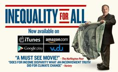 .@RBReich Watched #InequalityForAll. Truly excellent production. Watch it, regardless of your political affiliation