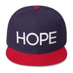 4624985009183 HOPE Snapback Hat (High Profile) (multiple colors)