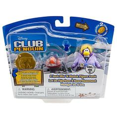 Disney Club Penguin Series 10 Mix N Match Mini Figure Pack Dot with Spy Phone Headgear Includes Coin with Code! by Jakks. $36.99. This Club Penguin 2 Mix N Match Figure Pack  Dot the Disguise Gal send you on a secret mission with Elite Penguin Force Agent D. This Series #10 toy figure pack includes a special coin that kids can use to Unlock Items Online at clubpenguin.com. Please note Because there is a redeemable code here, we cannot accept returns on this item...