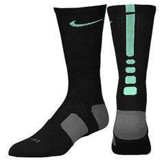 Nike Elite Basketball Crew Socks - Men's at Foot Locker size L