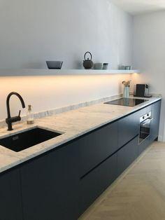 Complete you kitchen with the VIGO Greenwich Pull-Down Spray Kitchen Faucet Kitchen Interior, New Kitchen, Kitchen Dining, Kitchen Decor, Kitchen Modern, Kitchen Cupboard, Faucet Kitchen, Kitchen Ideas, Elegant Kitchens