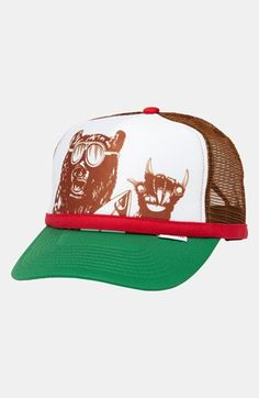 Quiksilver 'Terg Ferg' Trucker Hat (Boys) available at #Nordstrom