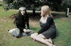 Yoko Ono and Linda McCartney