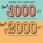 Get Rs 1000 Off on Minimum Purchase Of Rs 2499 | Jabong